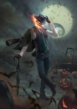Spooky Jack O' Lantern 2