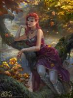 Fire Goddess Hydra by BillCreative
