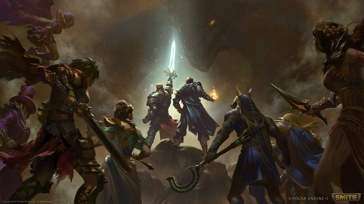 King Arthur and Merlin Teaser Illustration by BillCreative