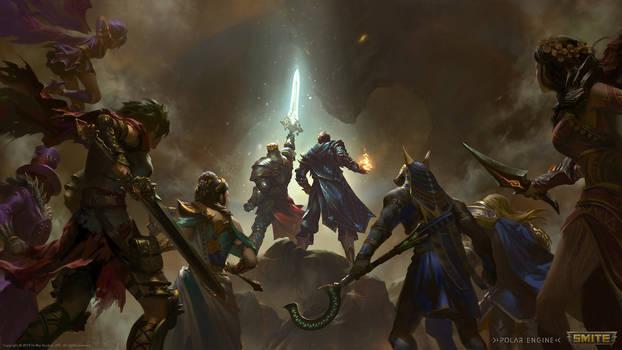 King Arthur and Merlin Teaser Illustration