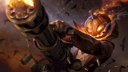 Spooky Jack O' Lantern v3