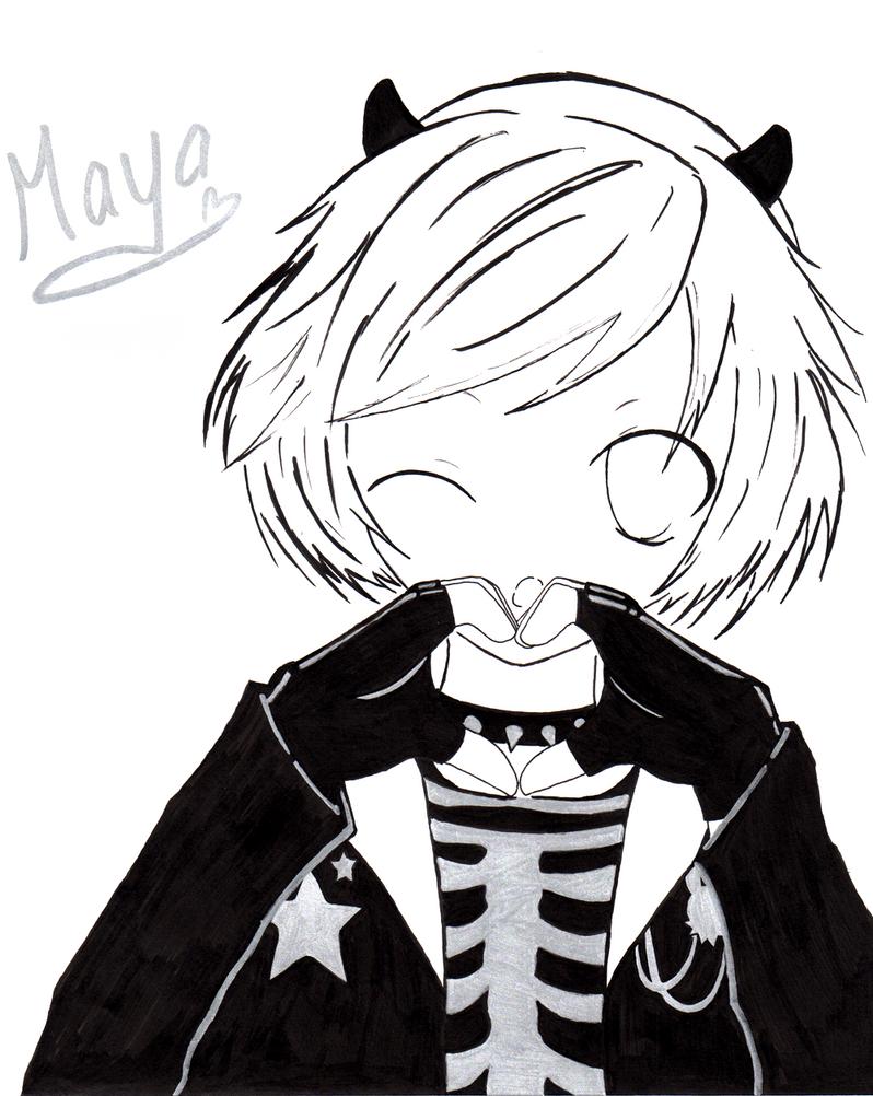 maya :3 by moco-mocochang