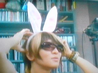 bunny eared Aiji by moco-mocochang