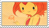 Stamp: Flame Princess by Michiru-Mew