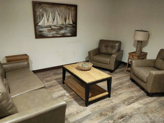 Living room is done. by Wretched--Stare