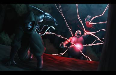 A One-sided Battle by MaHenBu