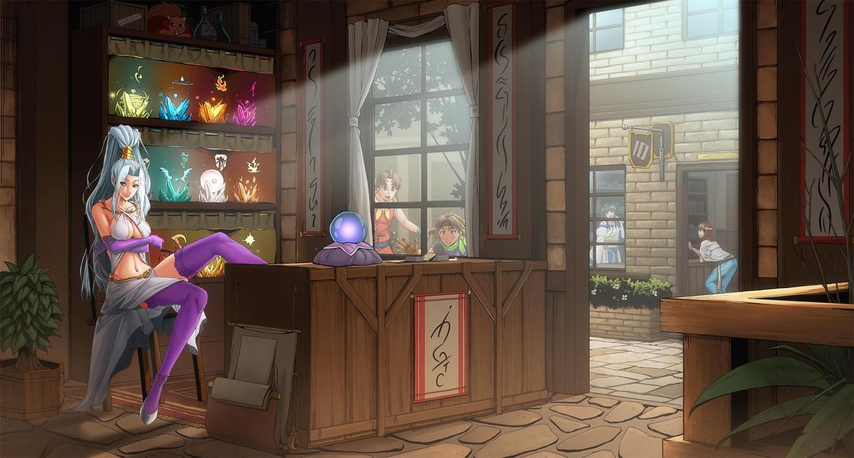 Rune Shop by MaHenBu