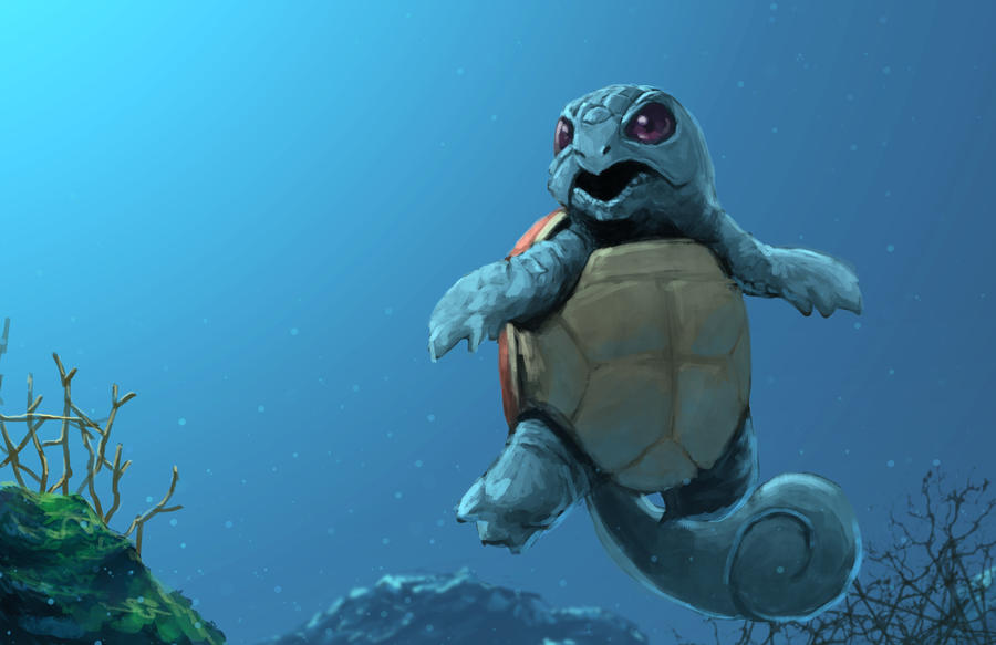 Squirtle by MaHenBu