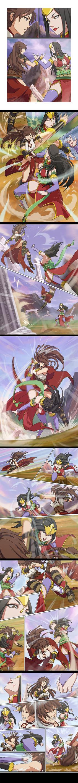 Aya VS Zhu Empress by MaHenBu