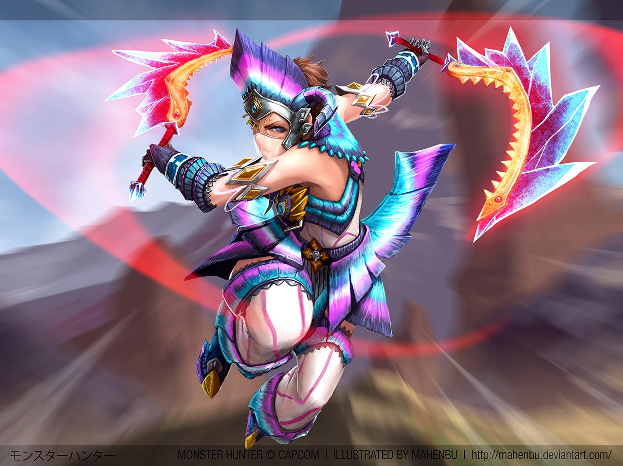 Monster Hunter 4 Ultimate By Mahenbu On Deviantart