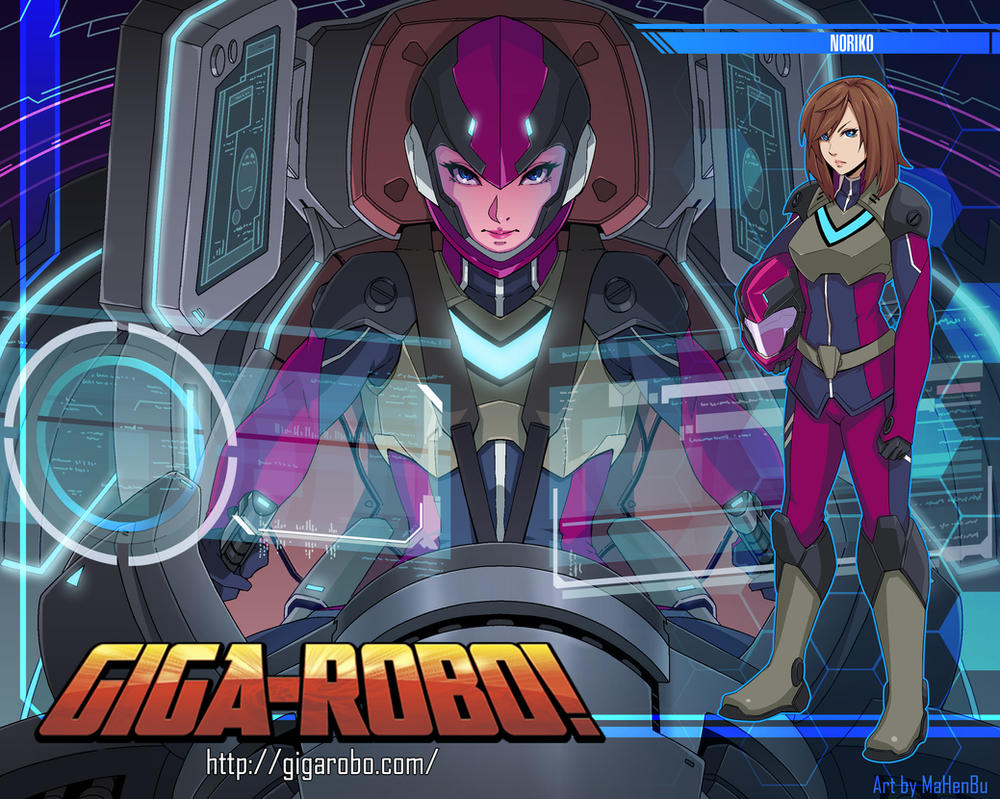 Giga-robo Noriko by MaHenBu