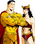 Captain Barbell and Darna