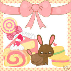 Bunny Heaven by sugarlette