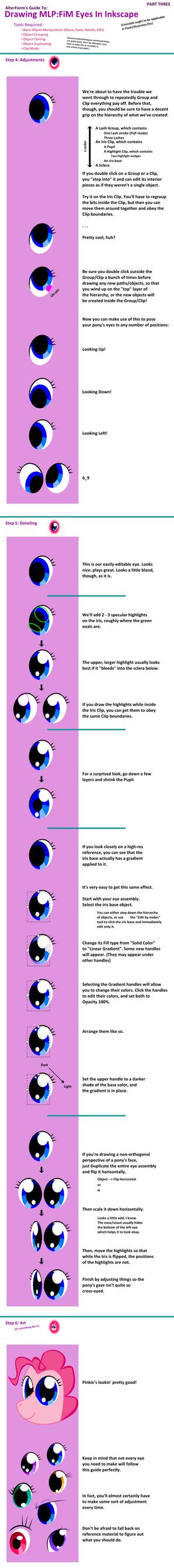 MLP: FiM Eye Tutorial Part 3 by AltrForm