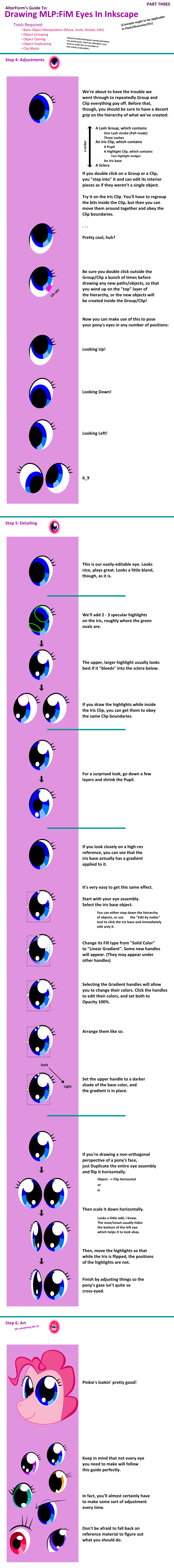 MLP: FiM Eye Tutorial Part 3 by AltrForm