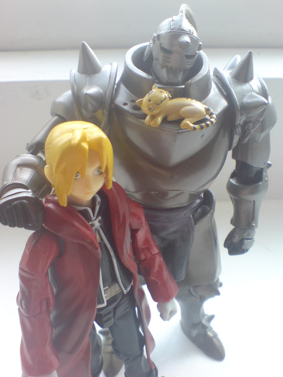 Al And Ed Elric by l3xxybaby
