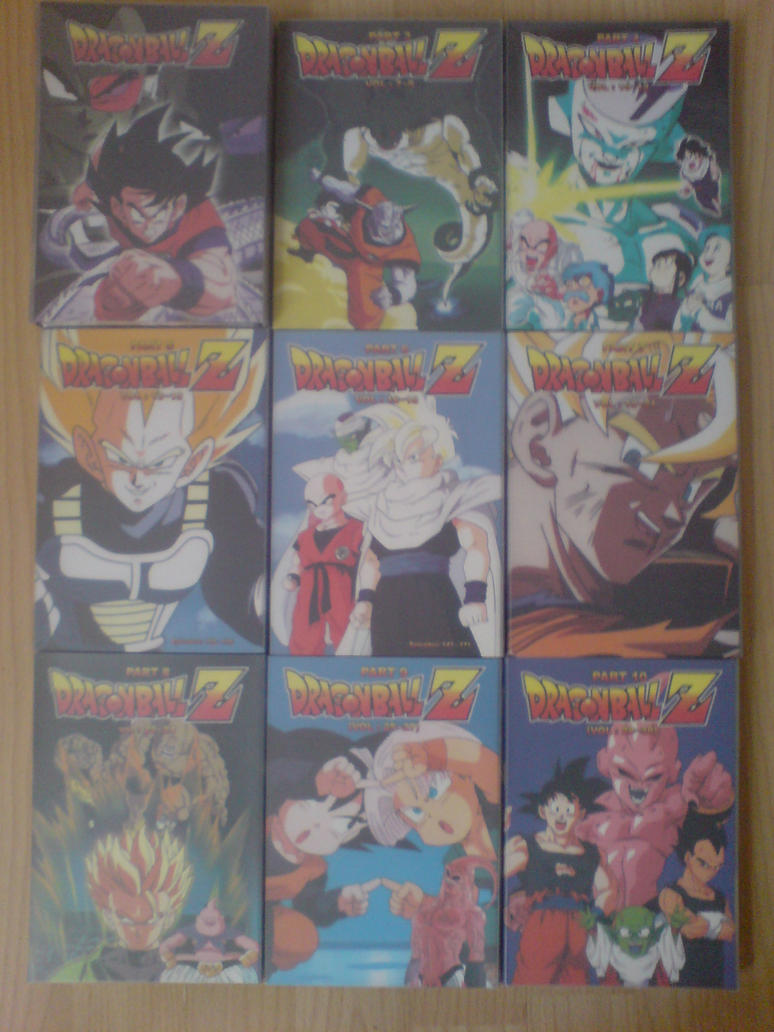 My Dragonball Z Collection by l3xxybaby