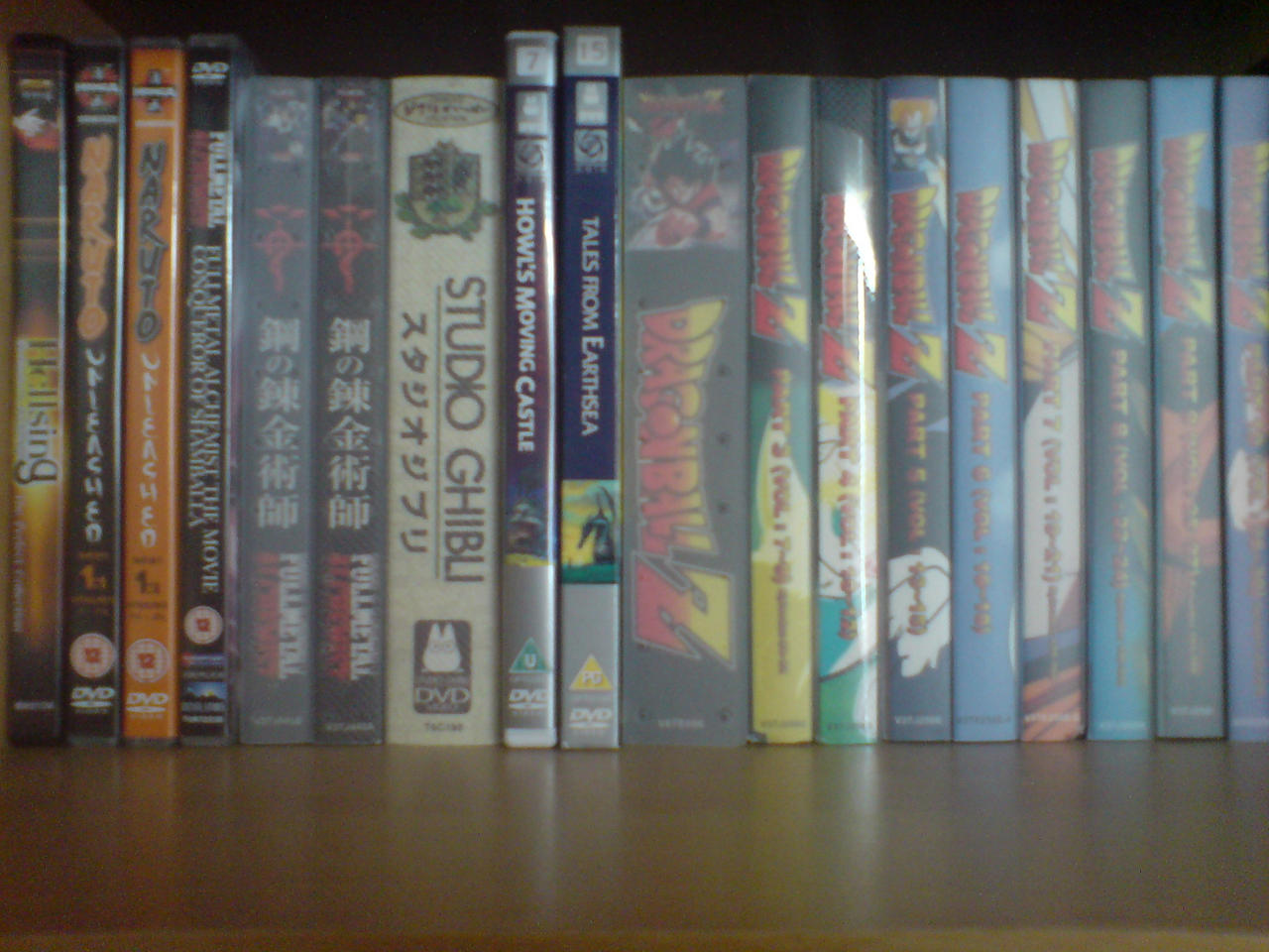 My Anime Collection So Far by l3xxybaby