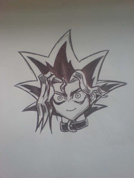 Yugi Sketch by l3xxybaby