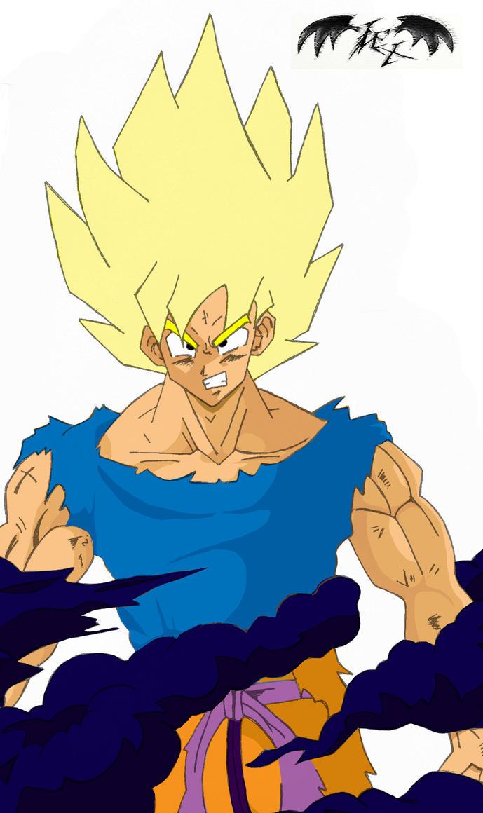 Goku super saiyan by l3xxybaby
