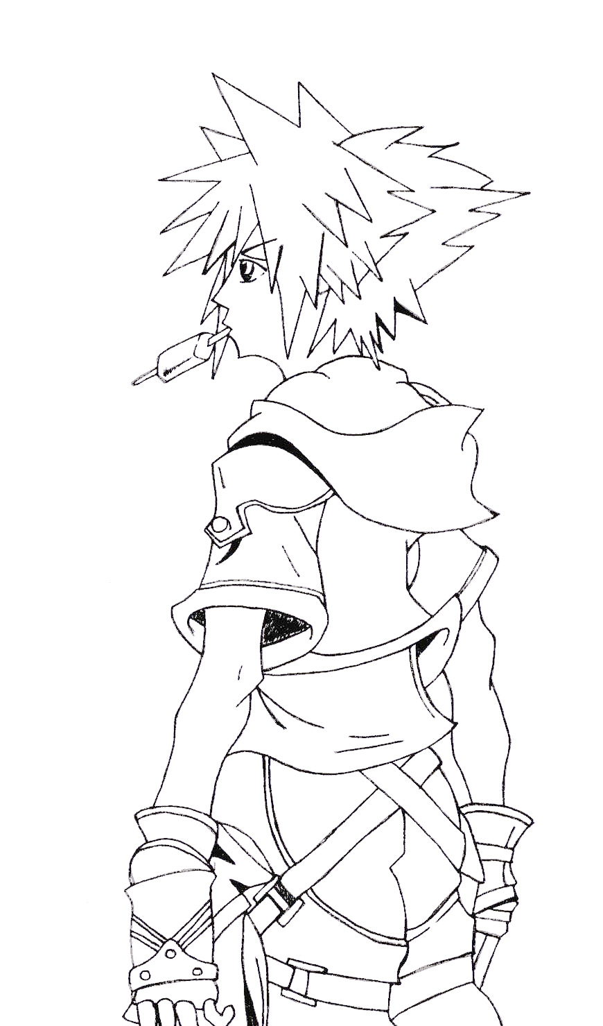Sora Sketch by l3xxybaby