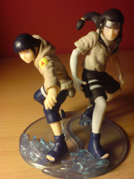 Hinata and neji models by l3xxybaby