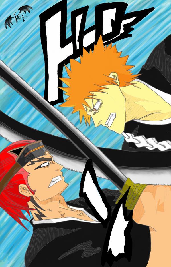 Ichigo Vs Renji by l3xxybaby