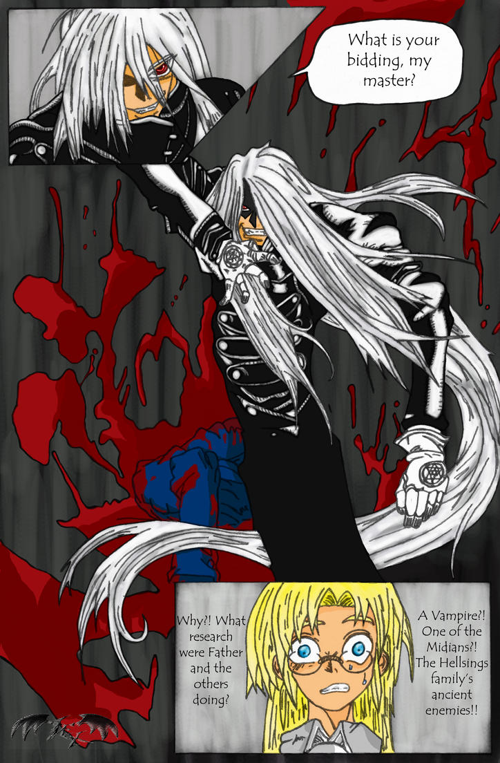 History of Alucard by l3xxybaby
