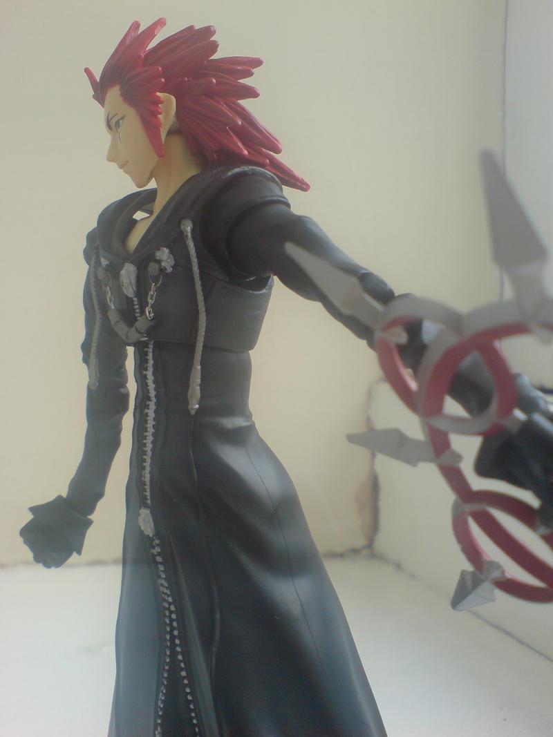 Axel Kingdom Hearts Play Arts by l3xxybaby
