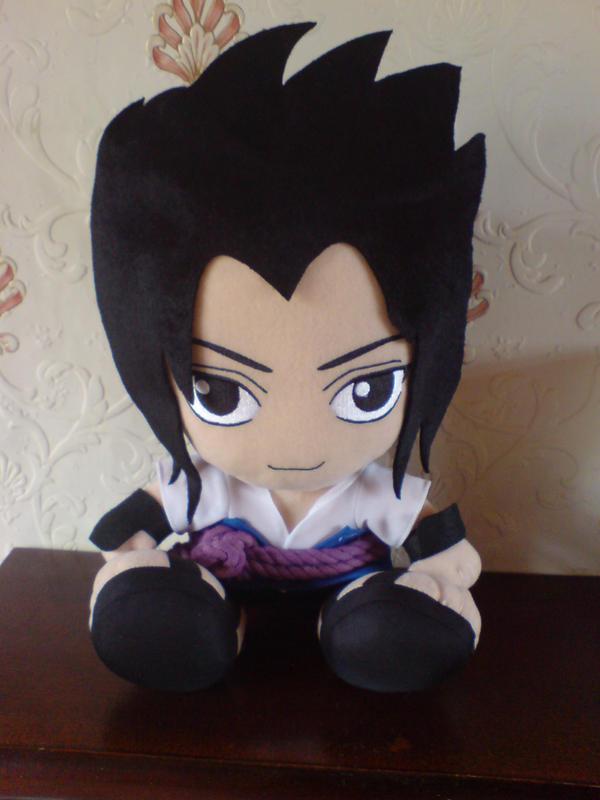 Sasuke Uchiha Shippuden Plush by l3xxybaby