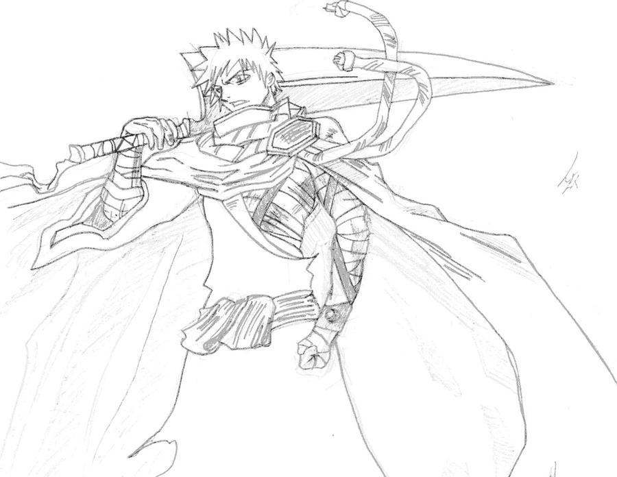 Ichigo Kurosaki by l3xxybaby