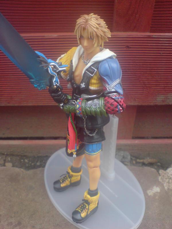 Final Fantasy Tidus PlayArts by l3xxybaby