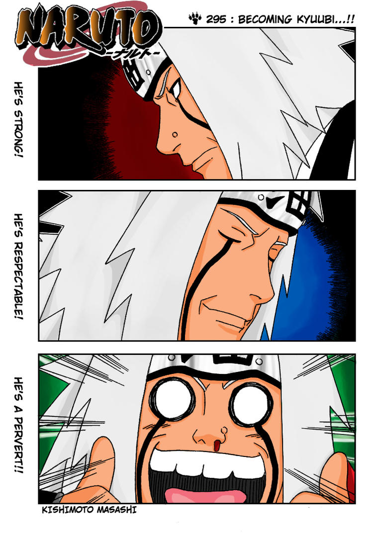 Jiraiya Chapter 295 color by l3xxybaby