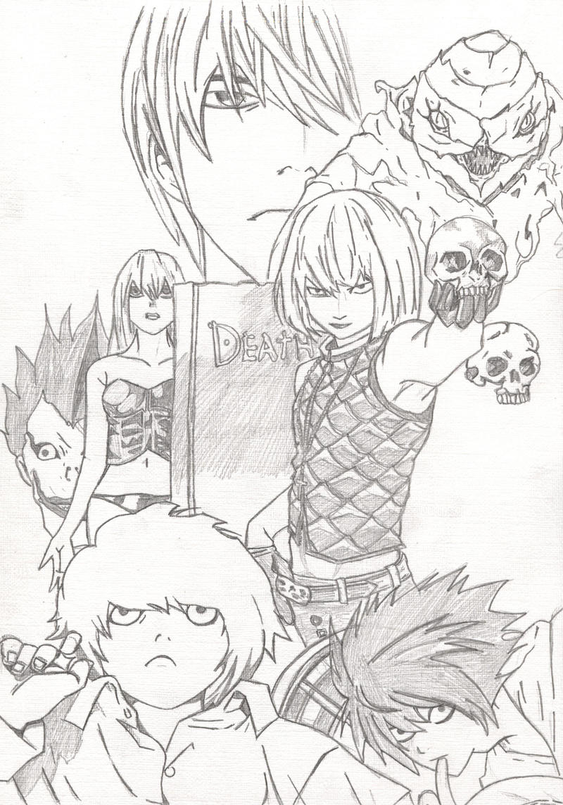 Death Note Crew by l3xxybaby