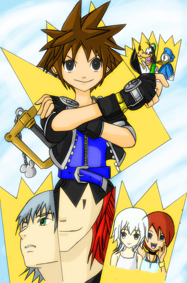KH Chain of Memories Color by l3xxybaby