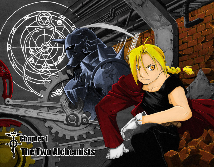 FMA Two Alchemists Color Scan by l3xxybaby