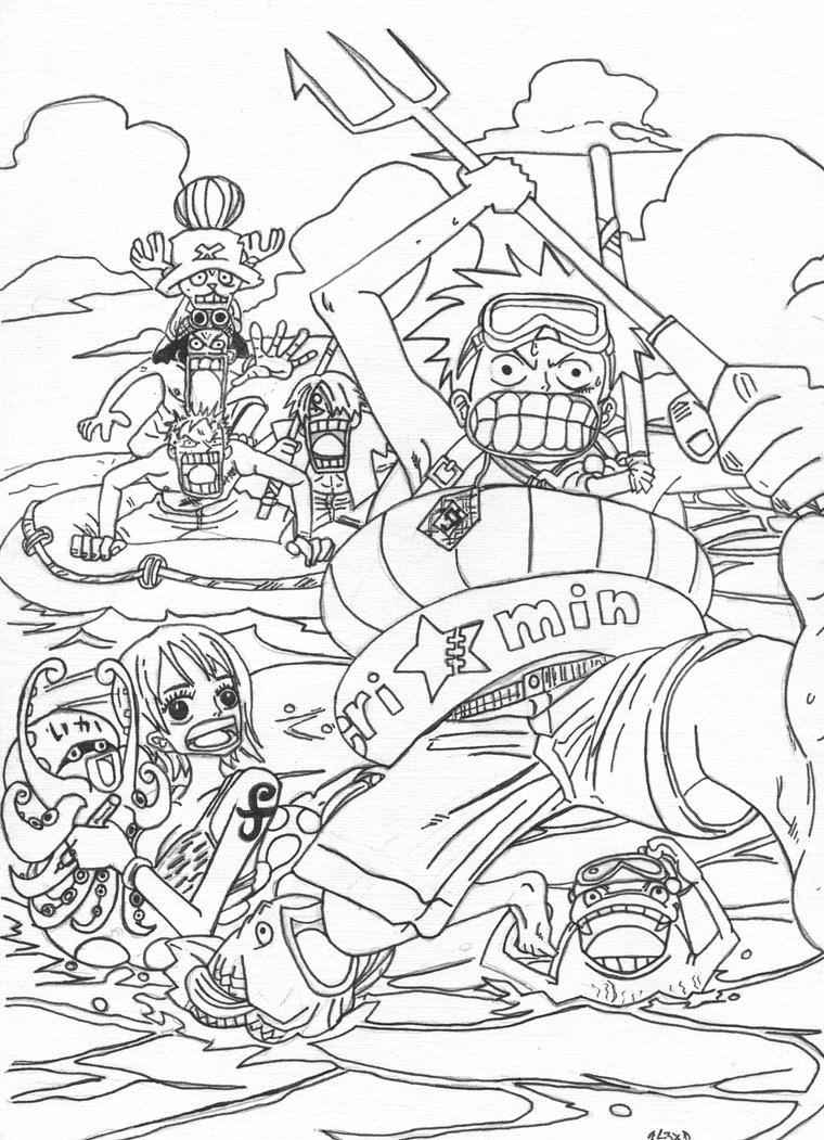 Lineart One Piece