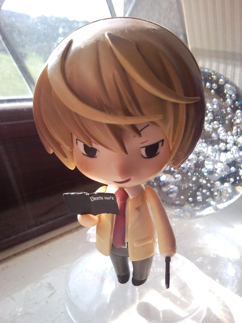Light Yagami Nendoroid by l3xxybaby