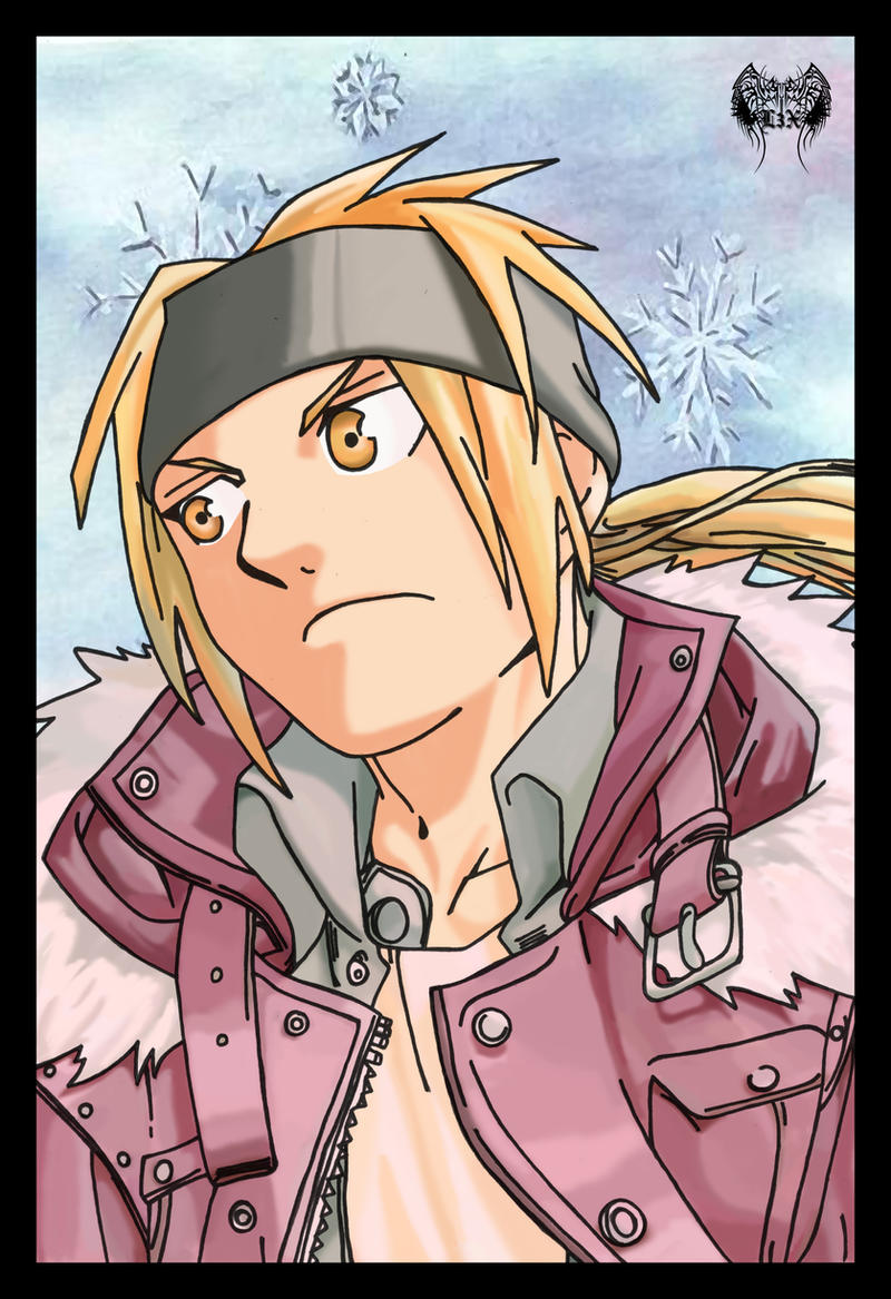 Edward Elric Winter Wonderland by l3xxybaby