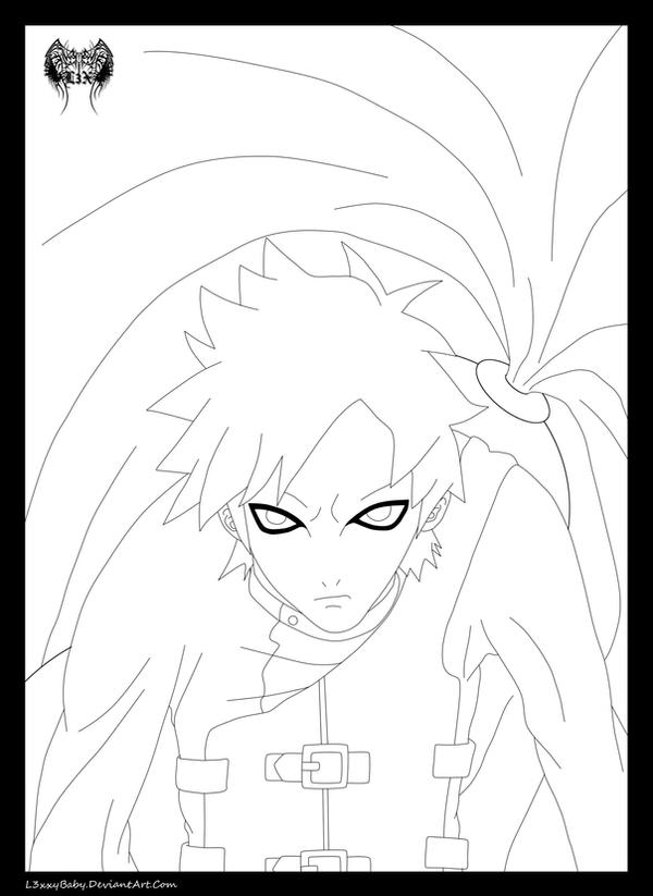Lord of the Sand Lineart by l3xxybaby