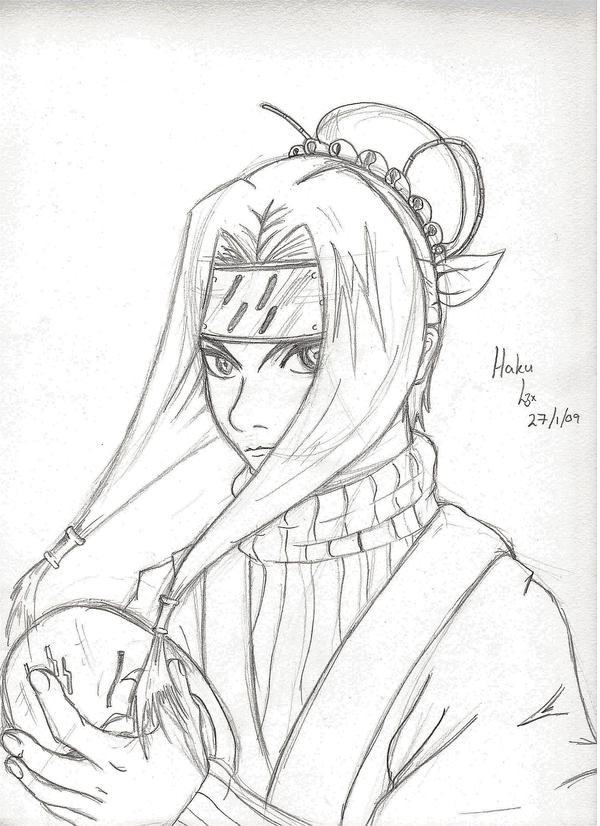 Haku Sketch by l3xxybaby