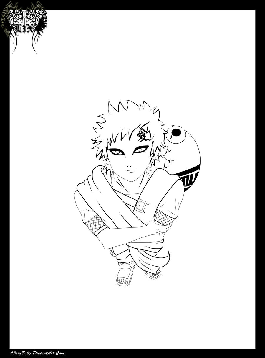 Gaara Perspective LINES by l3xxybaby