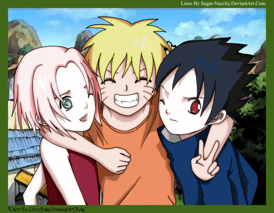 Team 7 Back in the Day... by l3xxybaby
