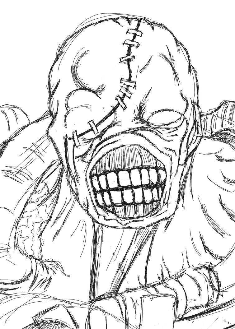 Nemesis Sketch by l3xxybaby