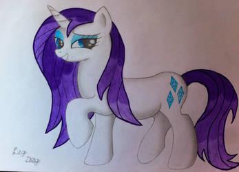 Rarity is the best pony by LegDeg