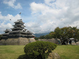 matsumoto castle japan by stillshadow
