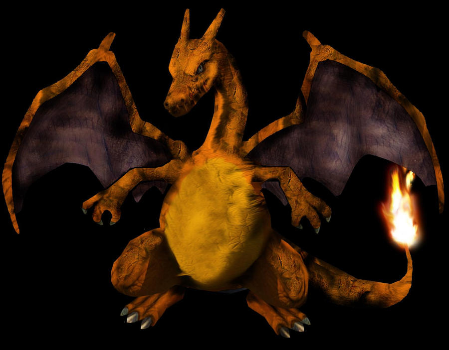 real life pokemon charizard by badafra on deviantart