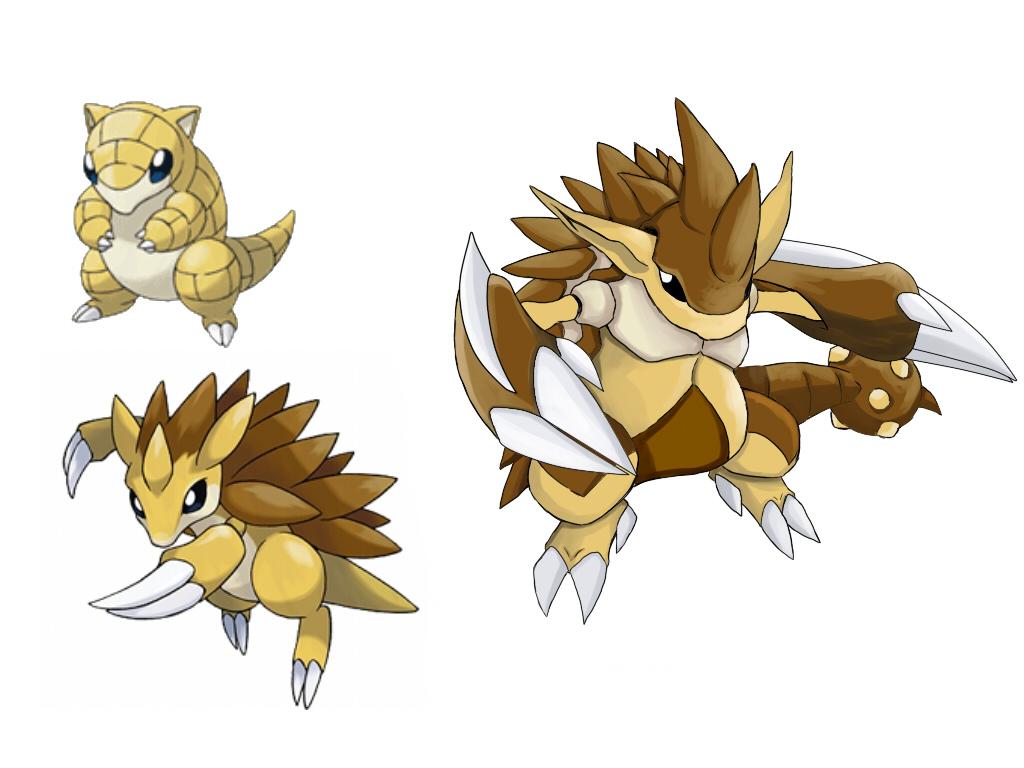 Pokemon fake evolution sandslash by badafra on deviantart - Pokemon xy mega evolution chart ...