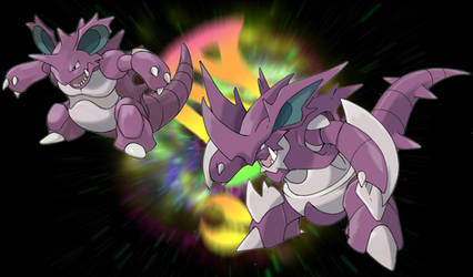 Mega Nidoking by badafra