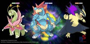fake megaevolution- starter Johto